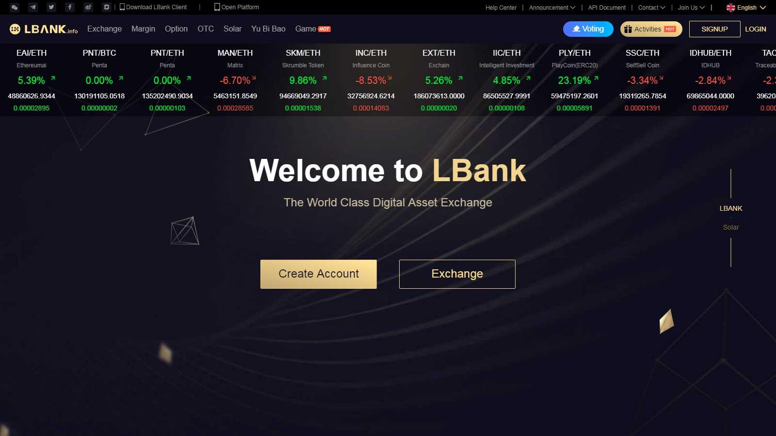 lbank официальный сайт