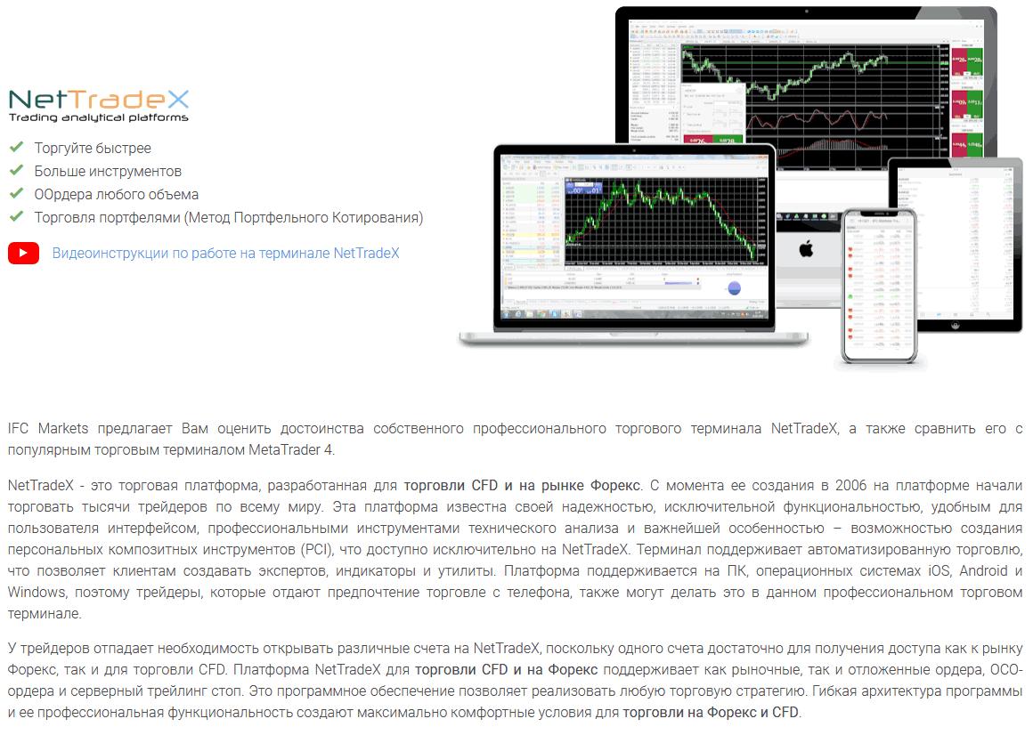 платформа nettradex