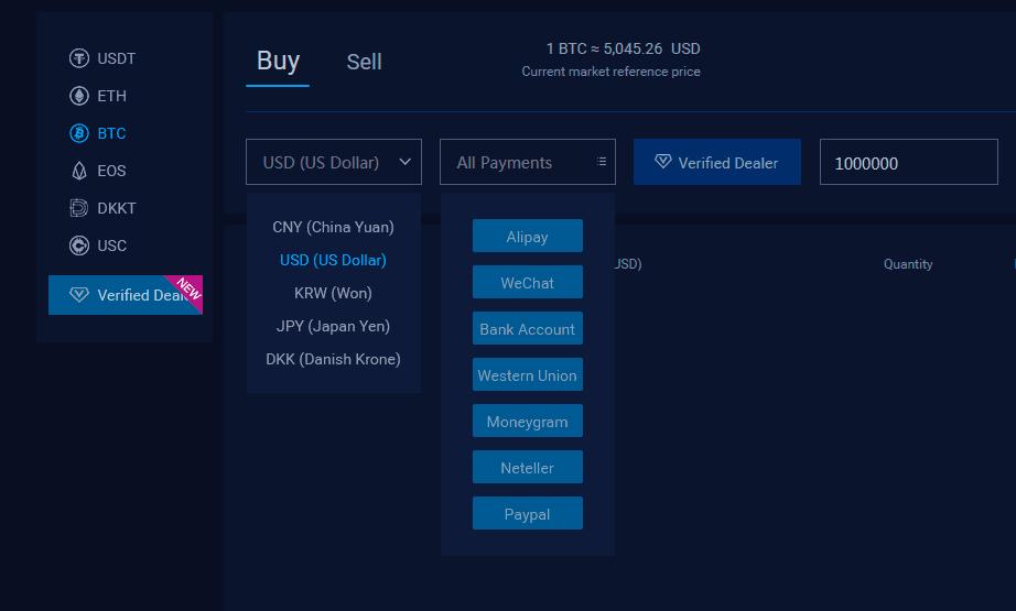 покупка криптовалюты bit-z.com