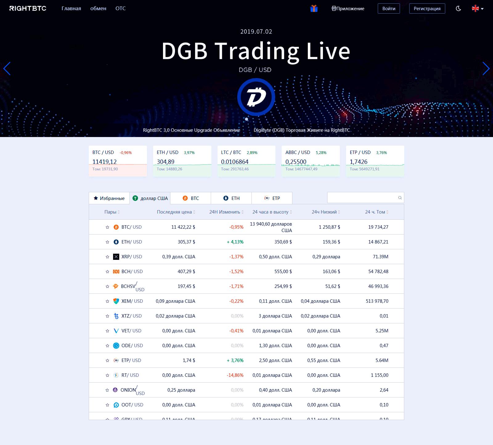 rightbtc официальный сайт