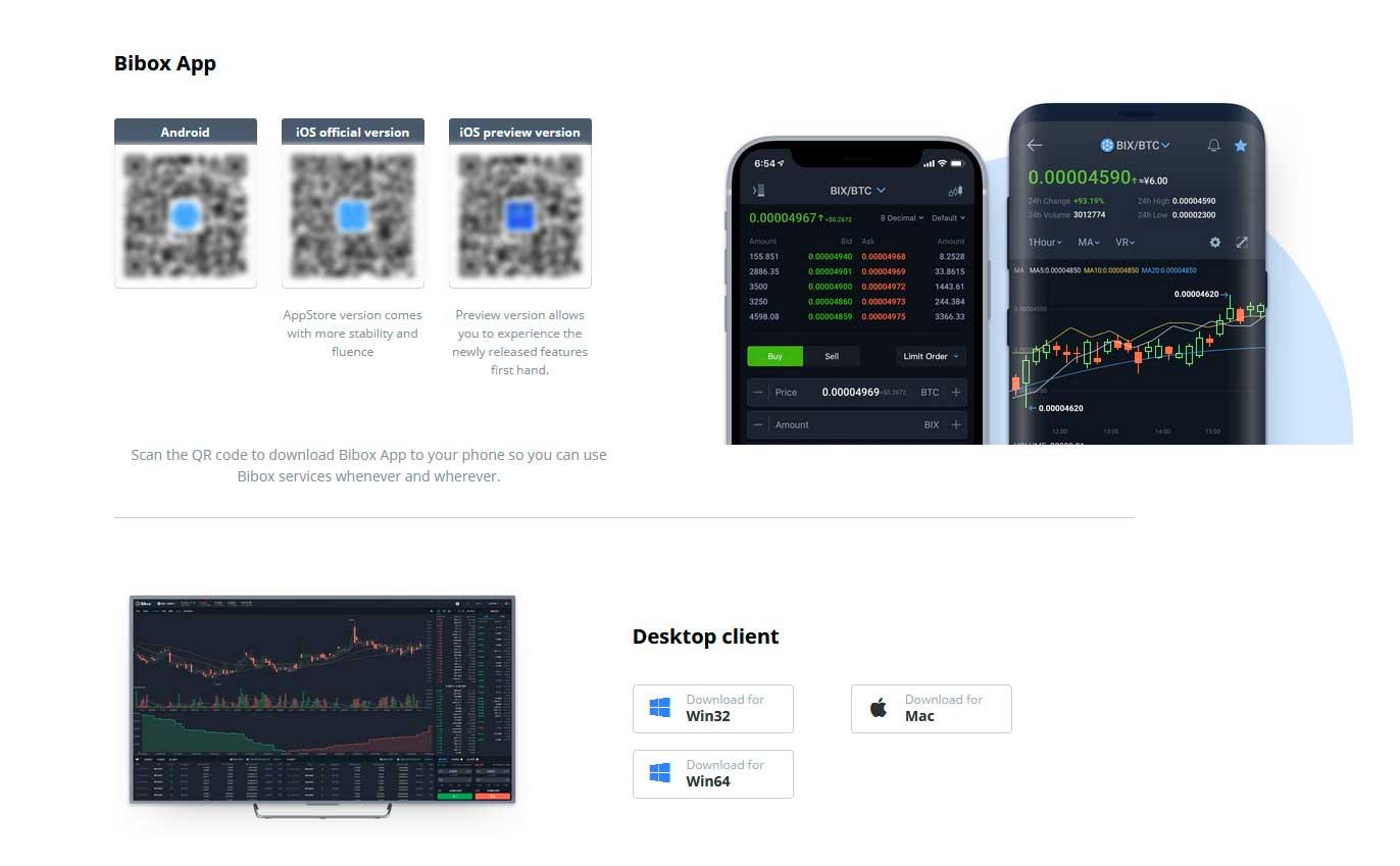 www bibox com торговая платформа