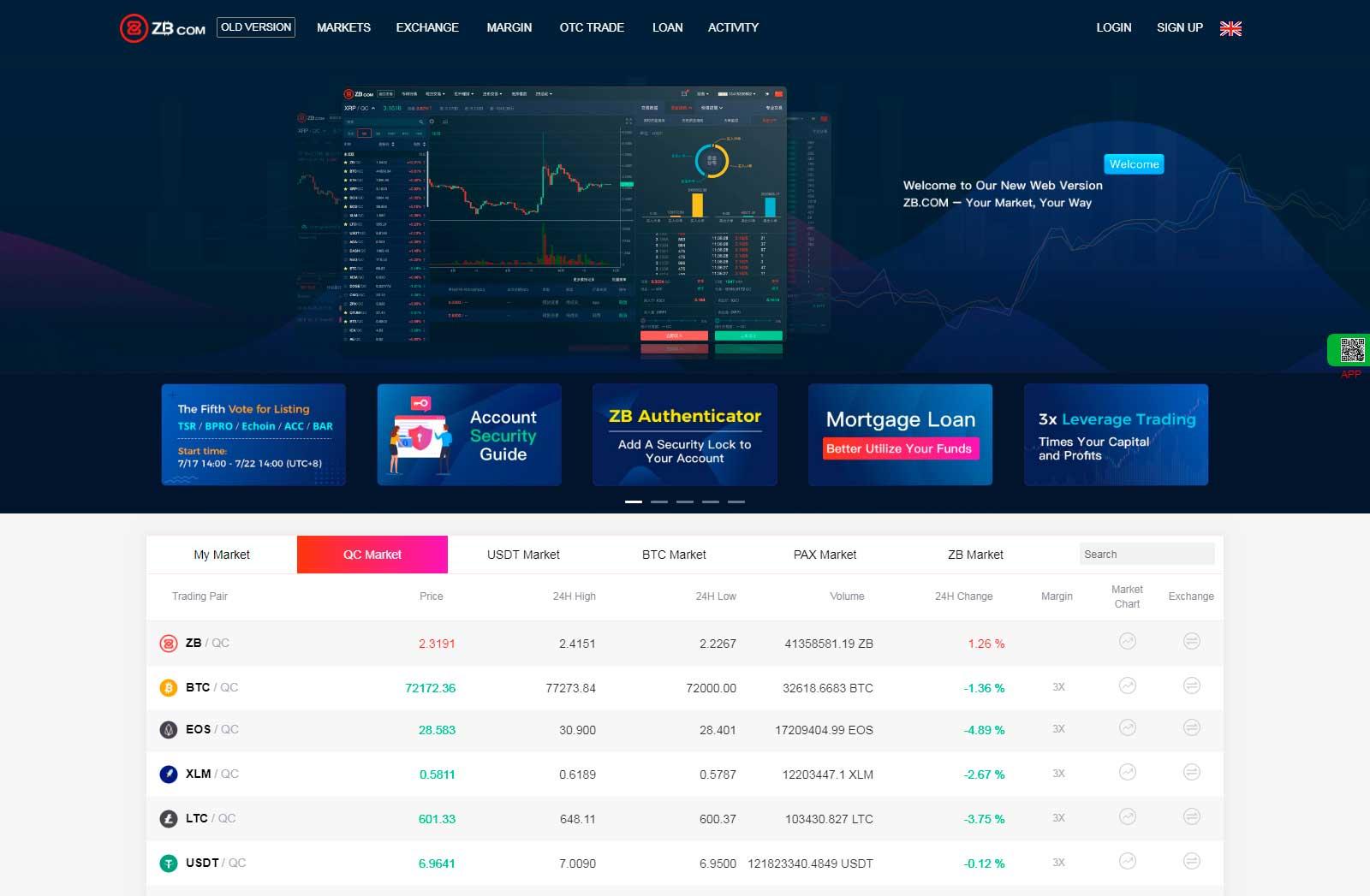 zb биржа официальный сайт