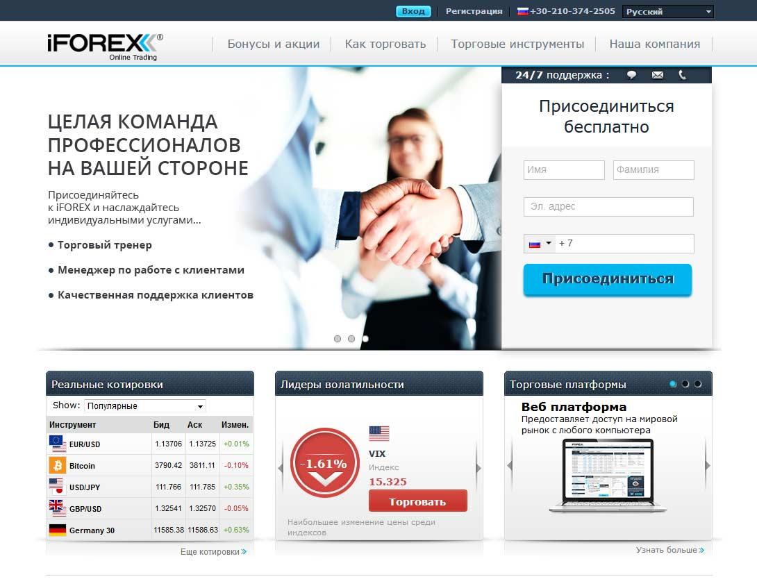iforex официальный сайт