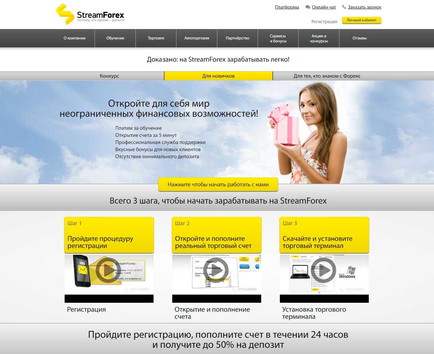 streamforex отзывы